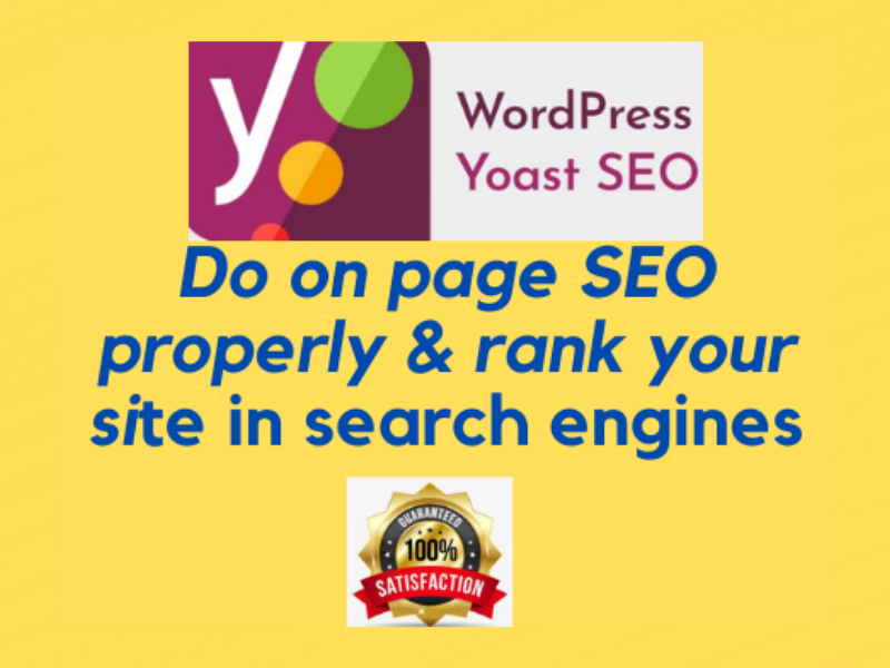 I will provide WordPress Yoast SEO service