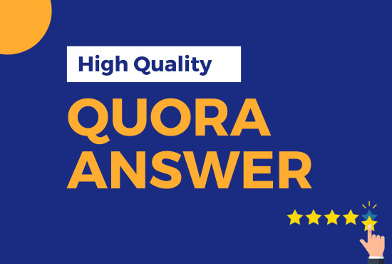 I will provide 14+2Free high quality Quora answers Post