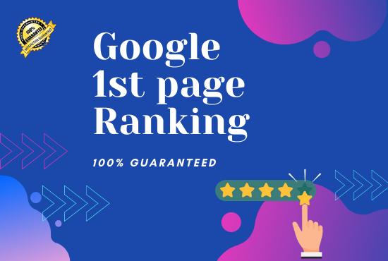 I will Give SEO service to rank on google do follow backlinks