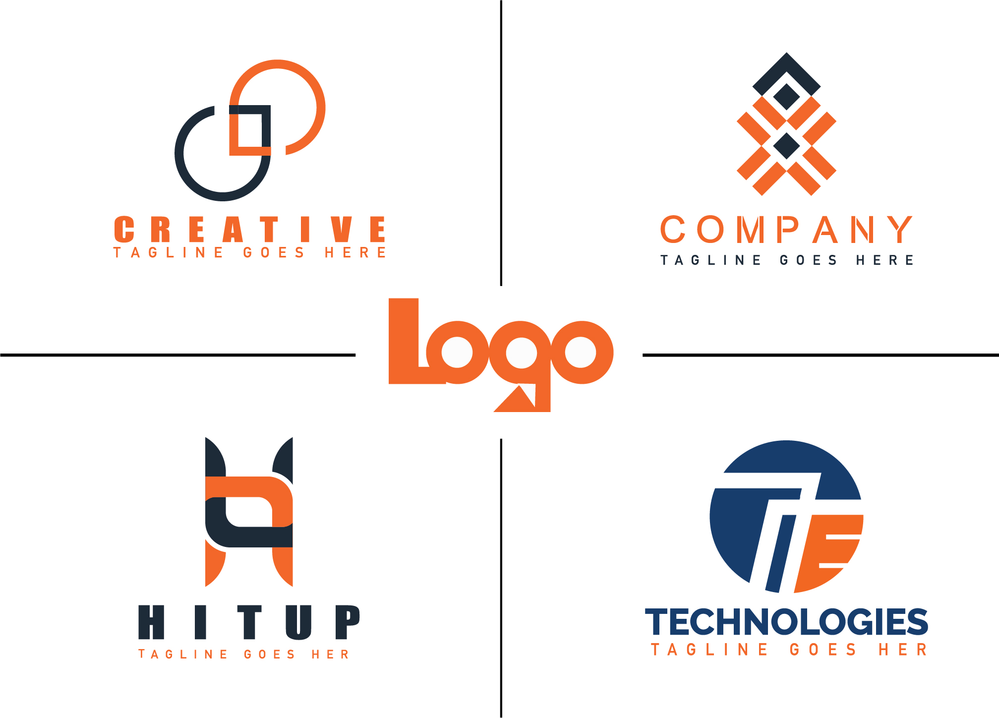 create a professional minimalist logo design for you