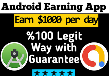I will create professional android earning app