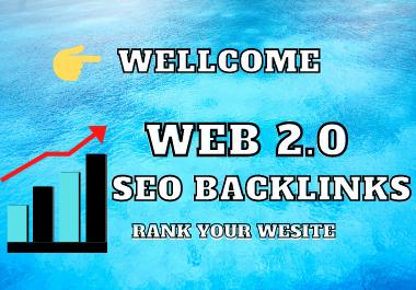I WIll create 25+ High DA Web 2.0 Seo Backlinks