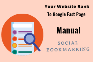 Get Manual 50 PR7-PR10 Social Bookmarking,  Backlinks with Boost alexa Ranking