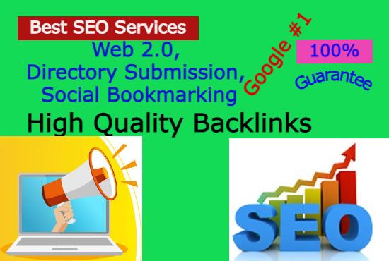 I will do 200 Do Follow web 2.0 directory social bookmarking backlinks Manually