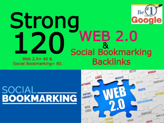 I will create 200 high authority web 2.0 and social bookmarking backlinks manually