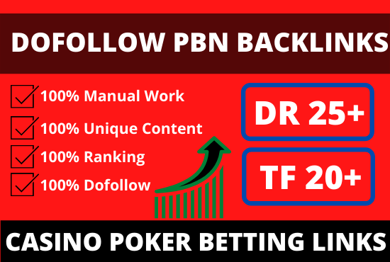 50 homepage dofollow pbn backlinks from high metric domains