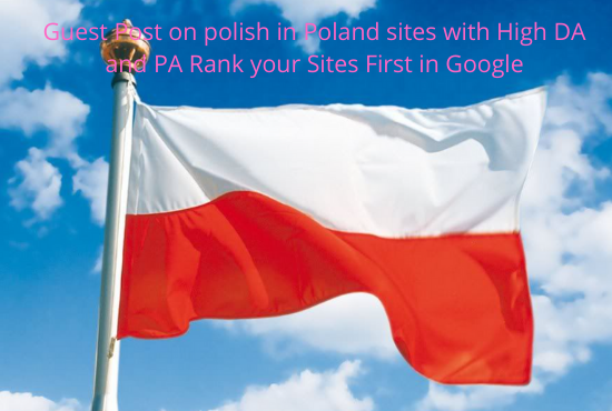 Rank your website in Top on google using Polish in Poland News Sites with Do-follow