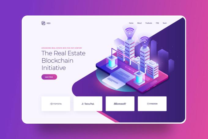 I will design a creative and unique website