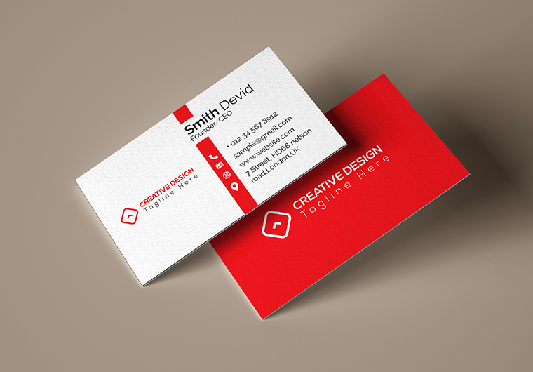 I will do Minimal Business Card Design within 12 Hours