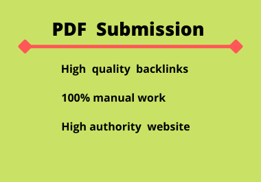 Top 10 PDF submission site with seo tips