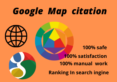 I well do 150 Google Map citations for local SEO to Drive more customers