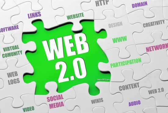 I will create manual high quality web 2.0 backlinks