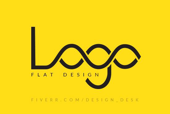 I will create professional minimalist logo,  letter mark logo Unique and attractive logo for you