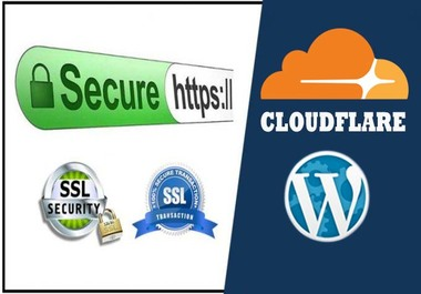 I will do install free SSL certificate or configure cloudflare CDN