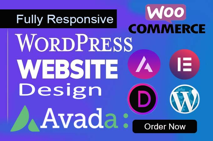 wordpress design and customizetion by astra divi avada elementor flatsome theme