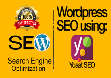 I will do wordpress website SEO using yoast plugin and technical on page optimization