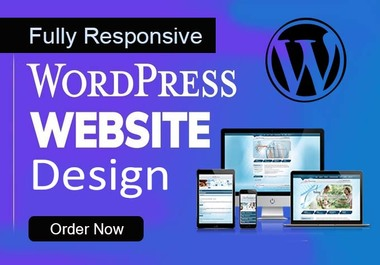 I will Design WordPress website fully responsive and SEO friendly or landing page