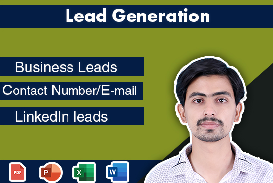 I will do provide you business2business lead generation