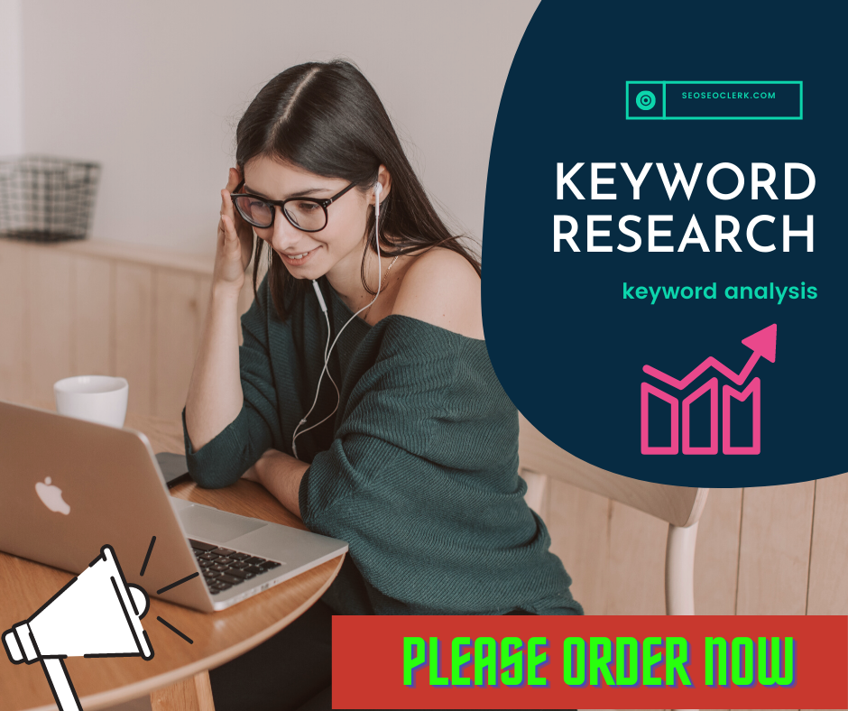 I will Develop SEO KEYWORD research and keyword analysis