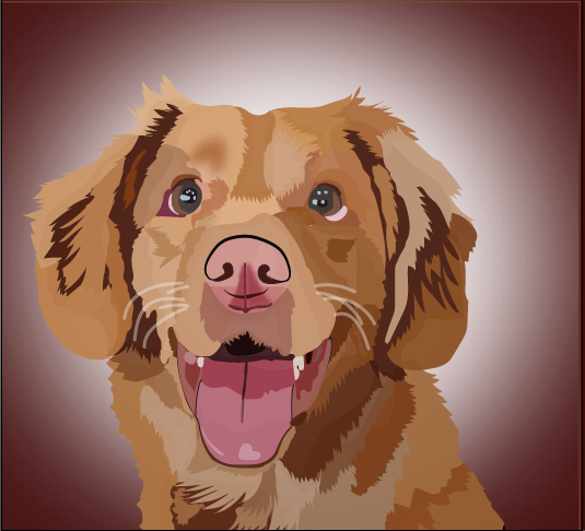 I Will Illustrate Your Pet Pic as Vector Art