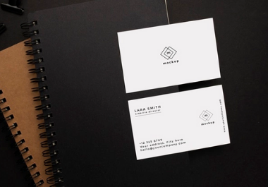 Business card, minimal business card and luxury business card