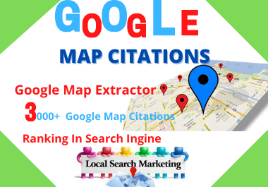 150 Google maps citation manual high authority local seo