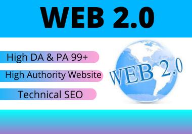 20 High authority web 2.0 backlinks Permeant link building