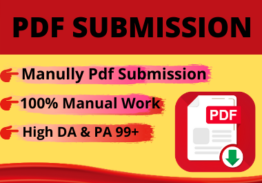 Best 20 PDF Submission high position PDF sharing destinations lasting backlinks low spam score
