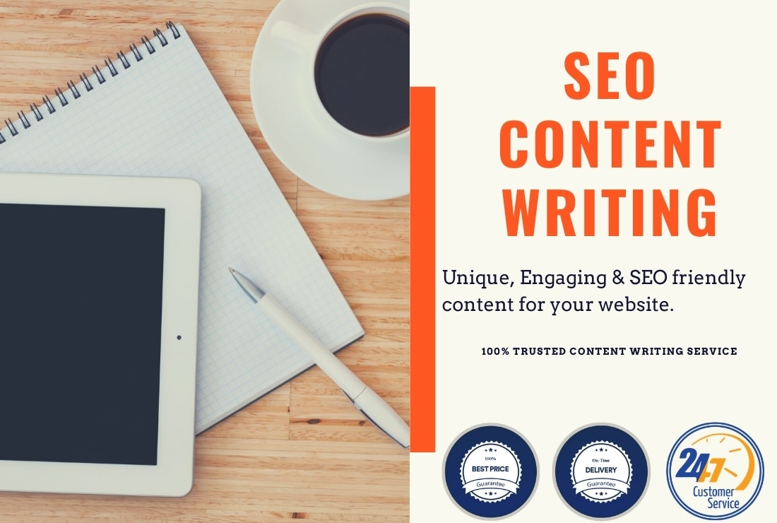 I will write the unique,  engaging and complete content
