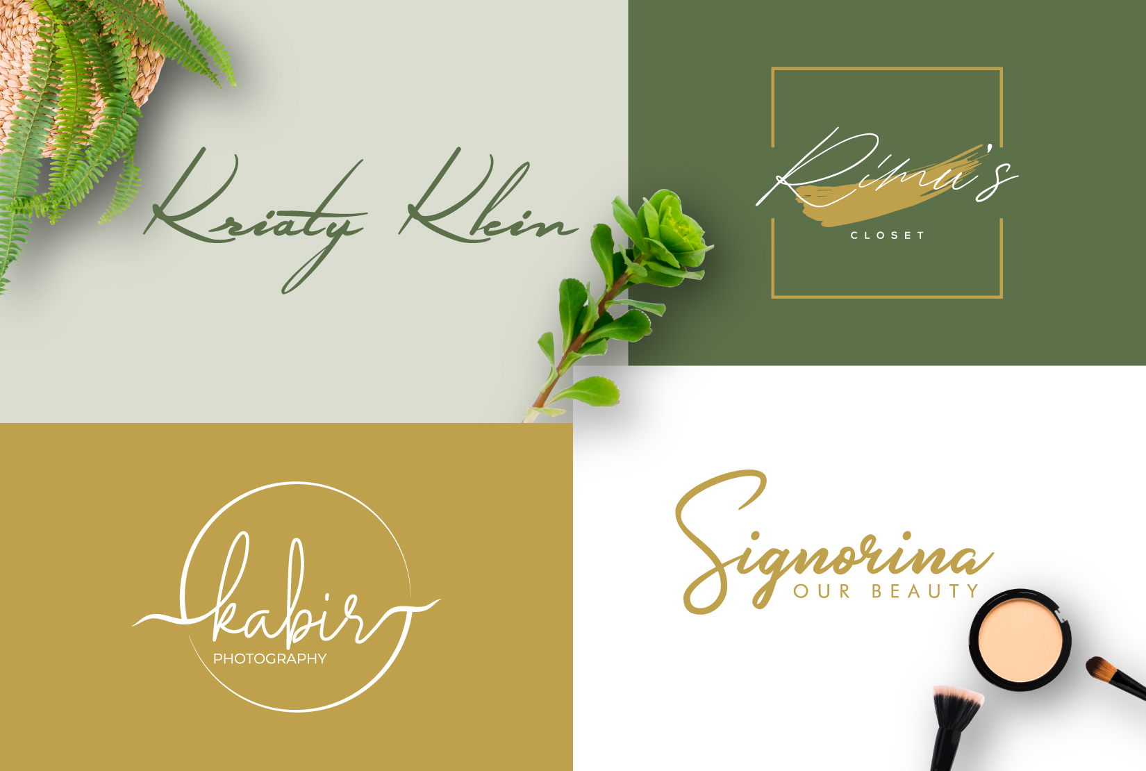 I will design professional business signature logo