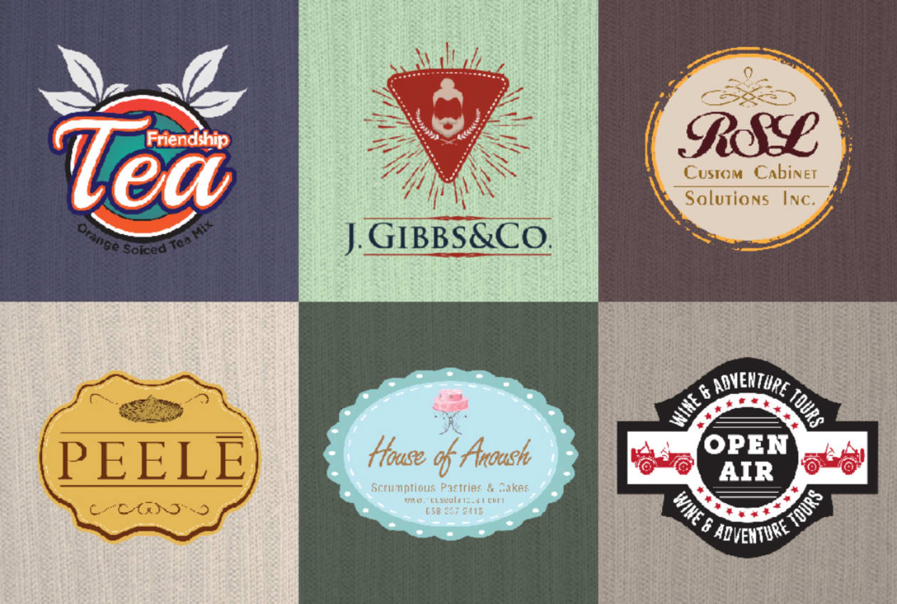 I will do 3 beautiful retro vintage logo design