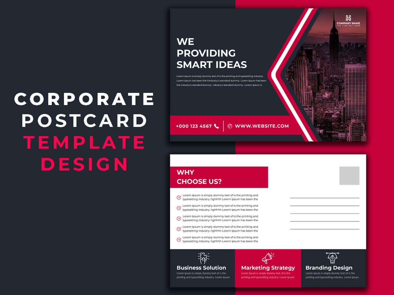I will design real estate postcard,  eddm postcard in 24 hours
