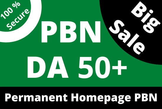 I will do 400 permanent high tf cf da pa homepage pbn backlinks