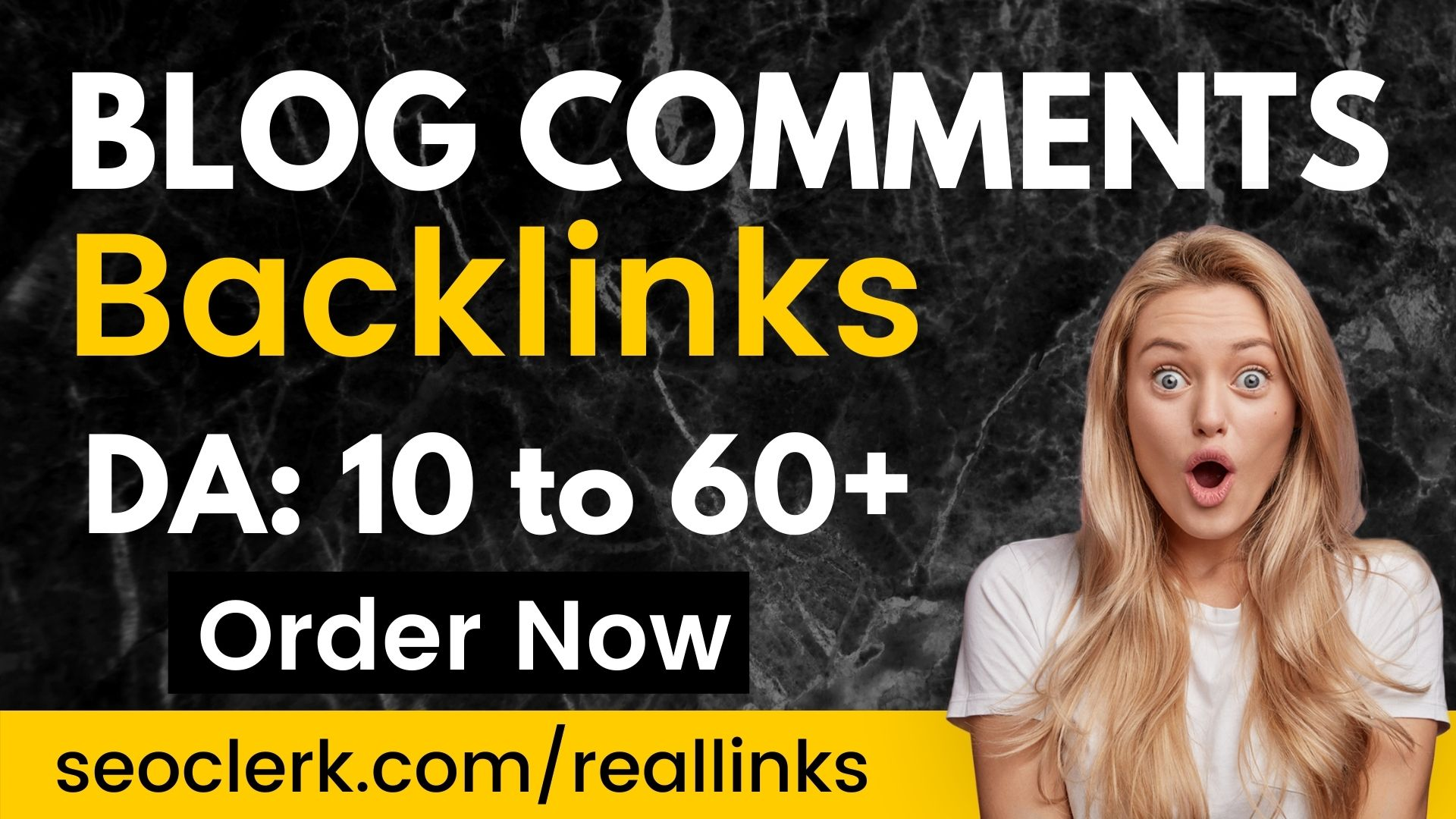 Build 200 High Quality DOFOLLOW Blog comments backlinks