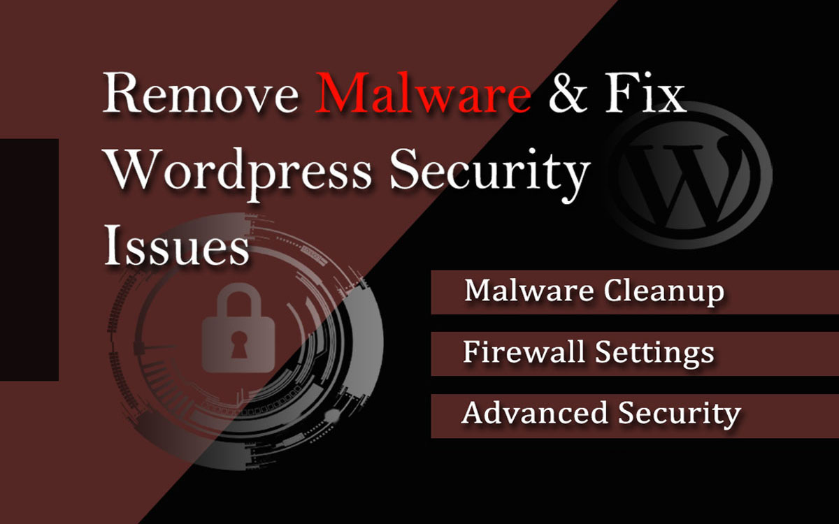 I will remove malware from hacked wordpress website and fix security issues