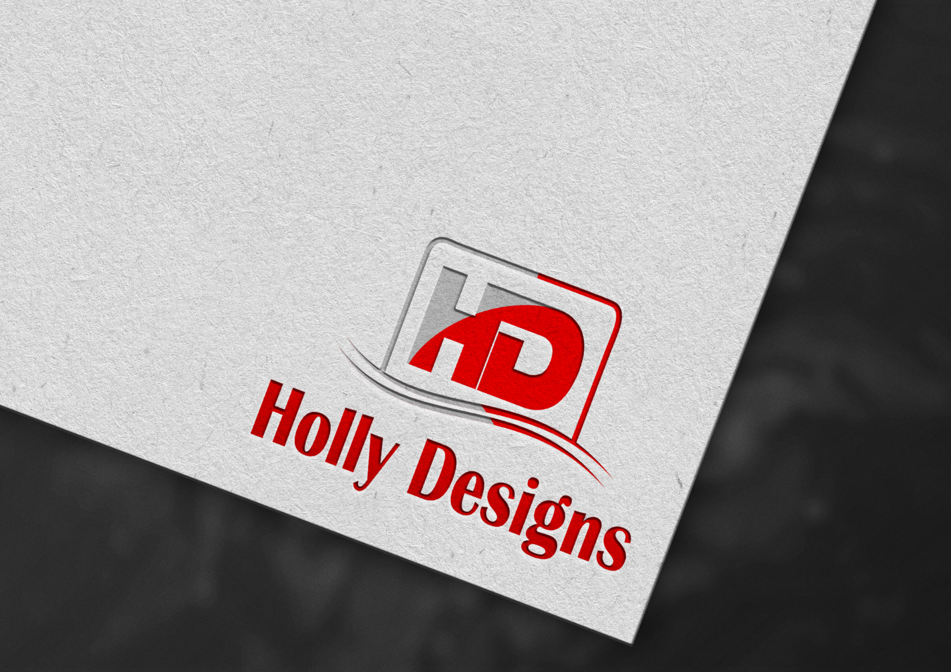 A simple 3D text animation designed for logo design.