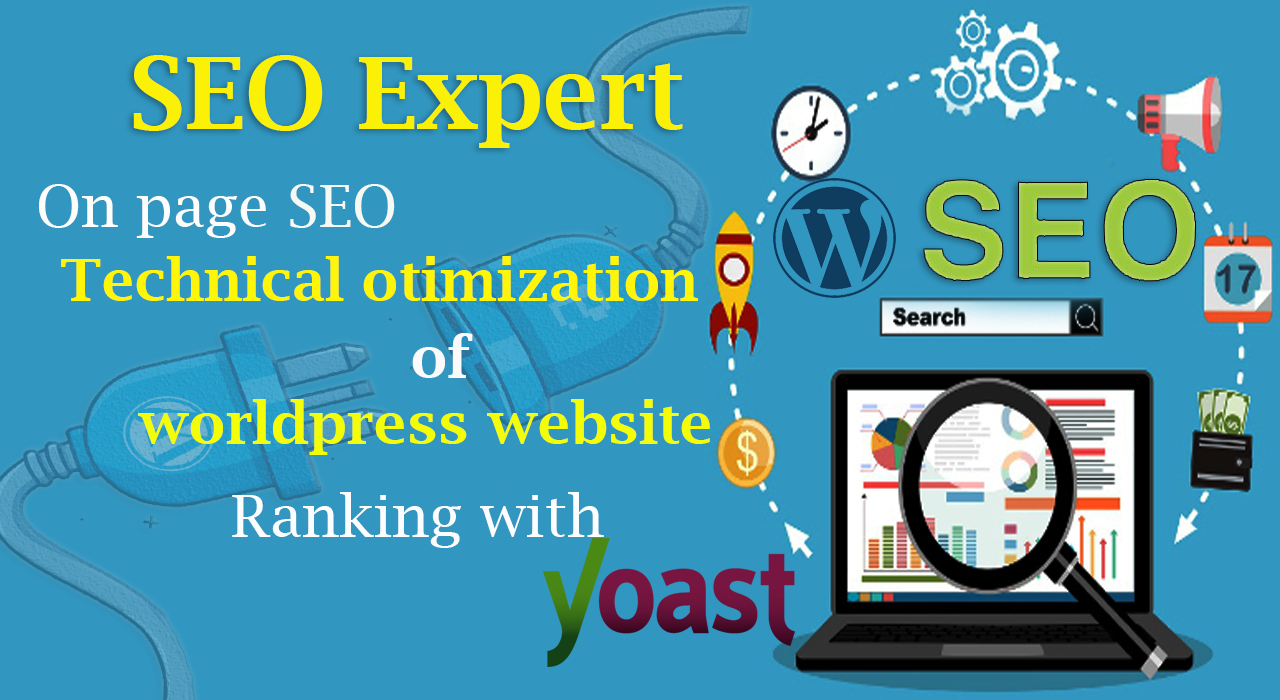 I will do on-page SEO and technical optimization of WordPress website ranking with yoast