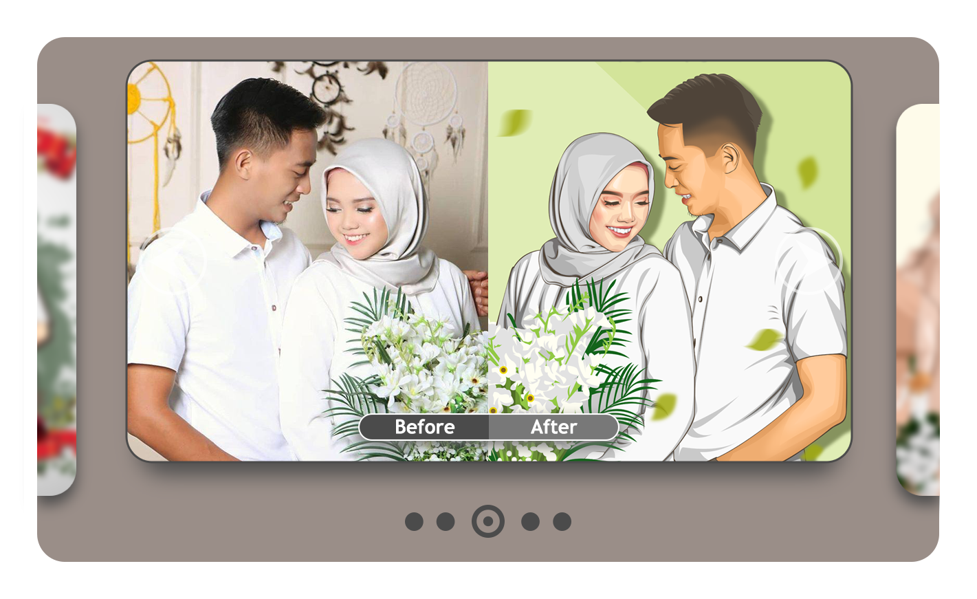 i will draw realistic couple vector of your photo