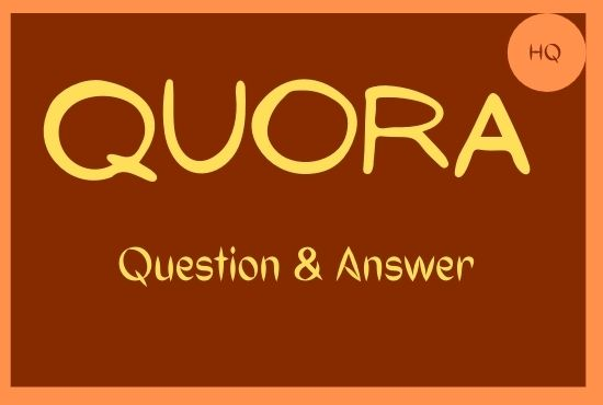 I will Promote your Website by 50 Unique Quora Answer with Backlink.
