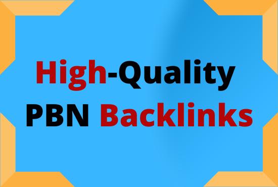 I will give you 15 lasting High DA PA CF Powerful PBN Backlinks