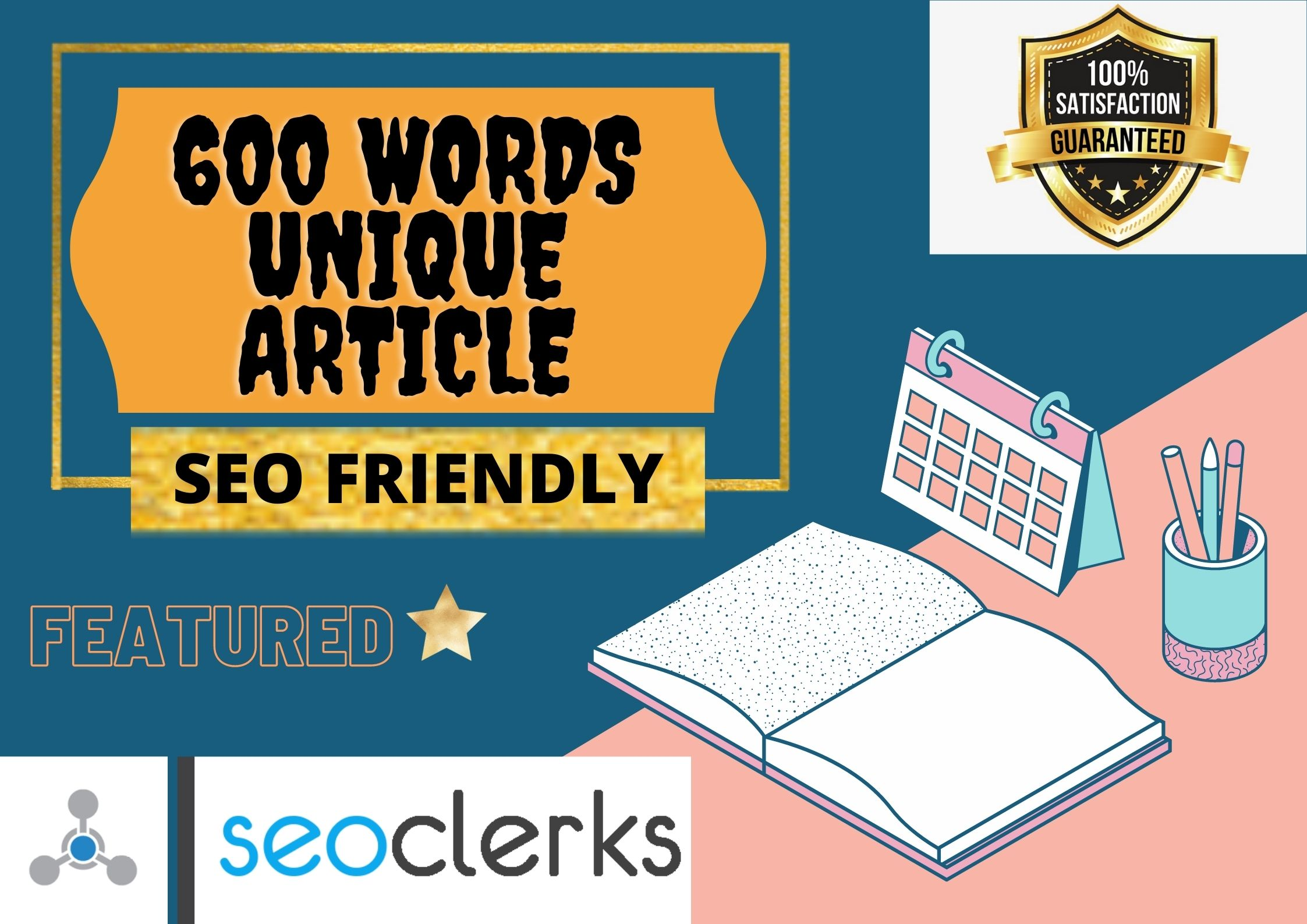 I will provide article writing service of 600 words in 24 hours