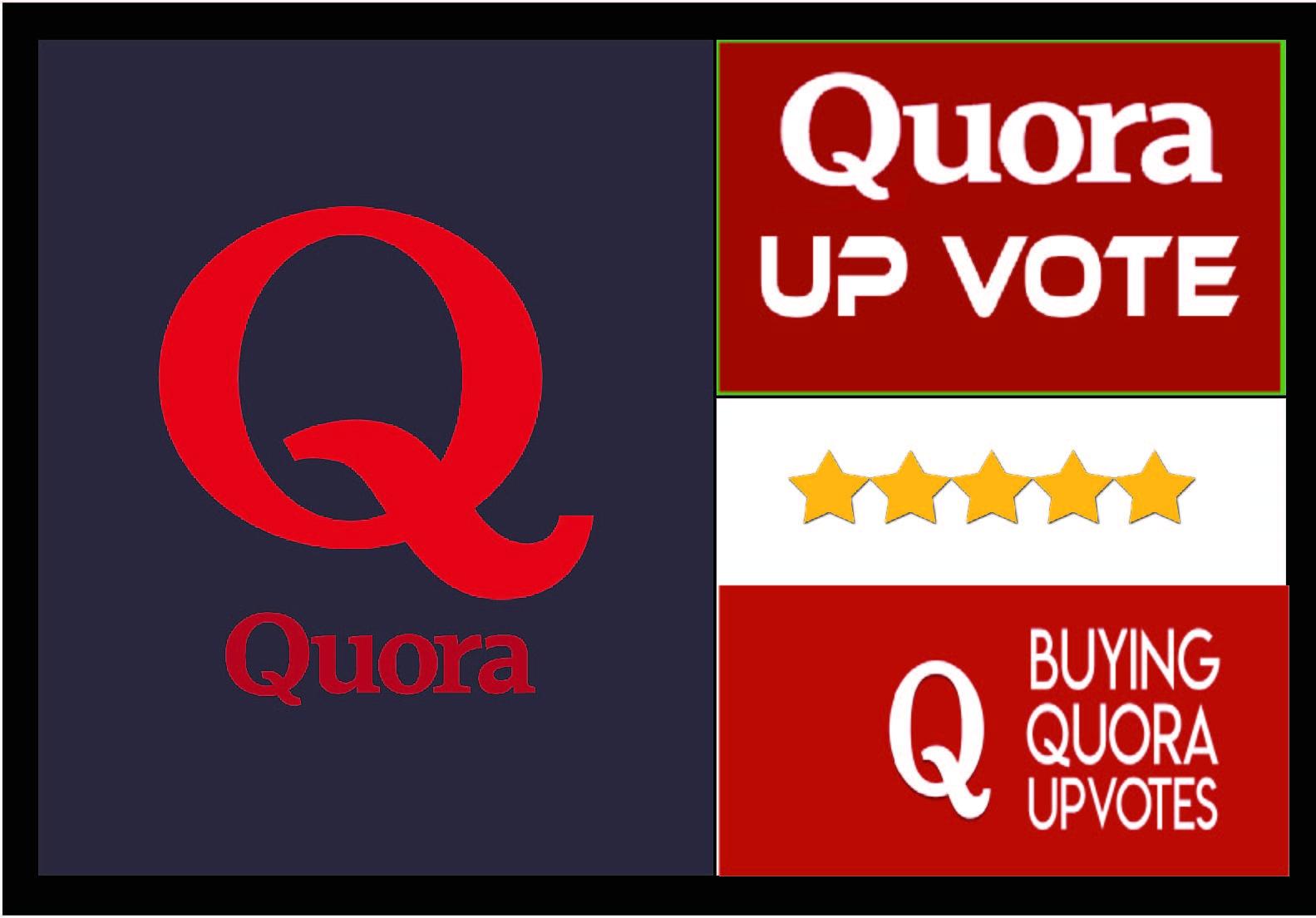Buy 20+ quora up-votes usa, uk worldwide.