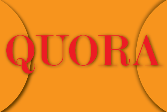 5 high quality Quora Answers and Backlinks