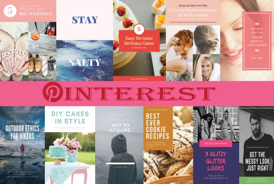 I will create 20 Eye-catching Pinterest pins