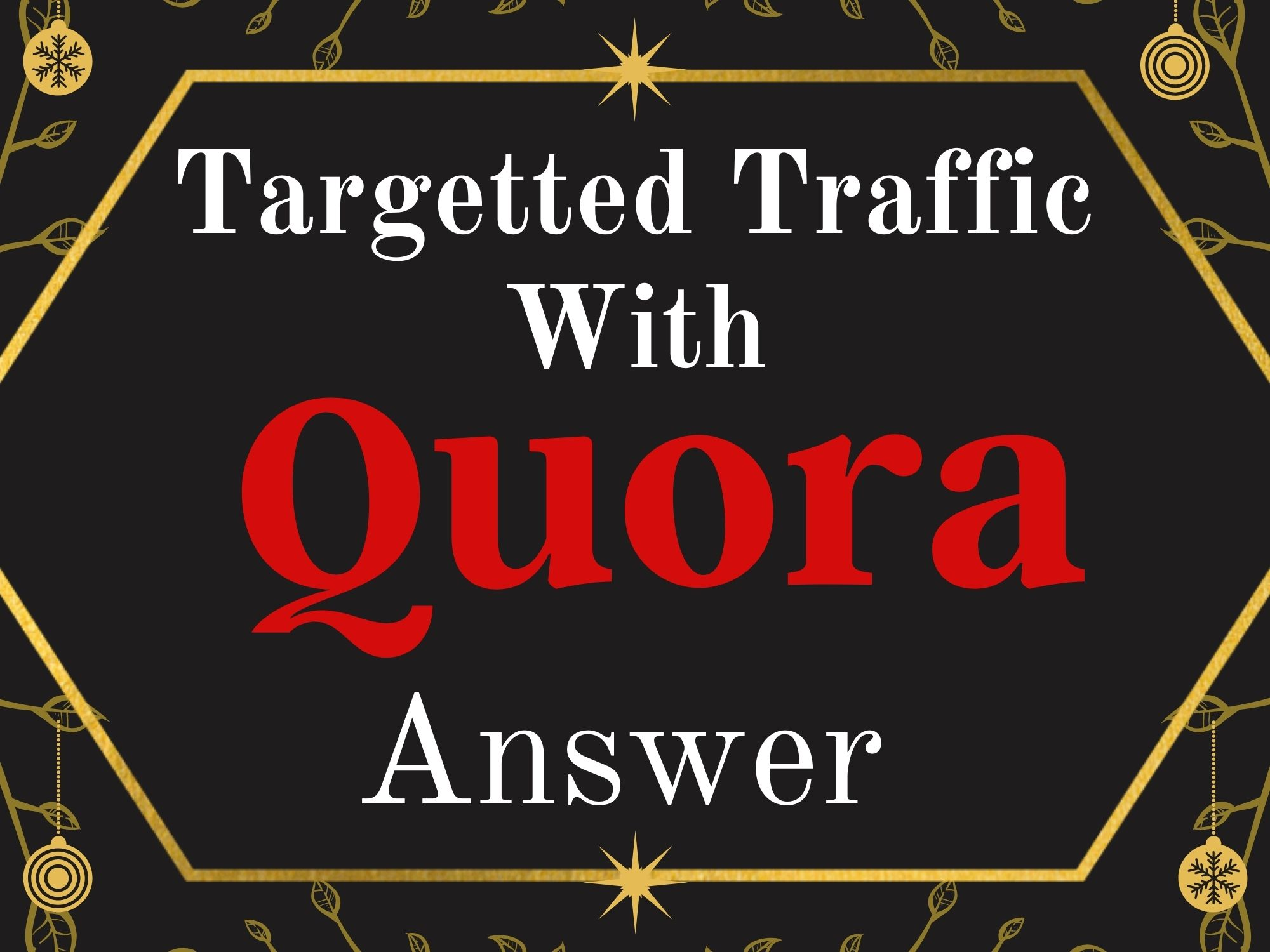 Promote Your Website with 15 HQ Quora Answer with backlinks