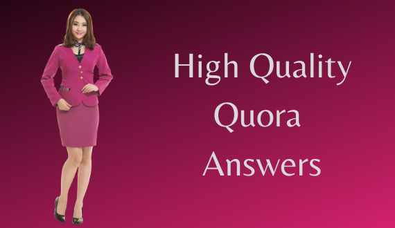 Provide 5 high quality quora answers.