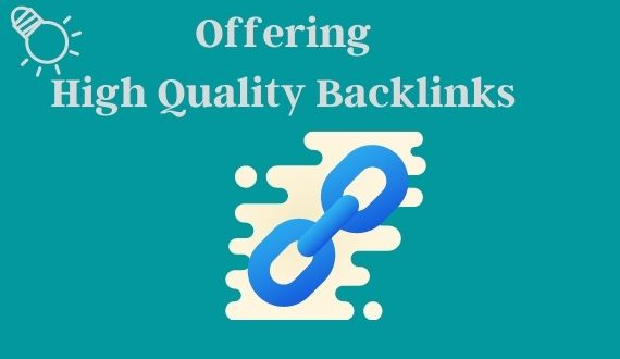 I will provide off page SEO service with High quality backlink.