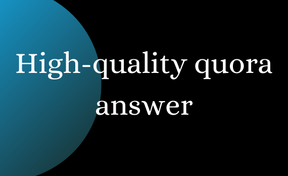Boost your site with 20 high quality quora answers.