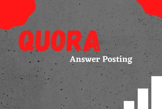 I will Provide 20 Quora answers on your Niche relevant Questions