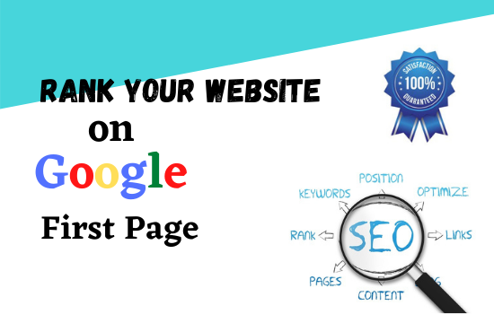 A complete monthly SEO service with Backlinks package for rank on Google First Page